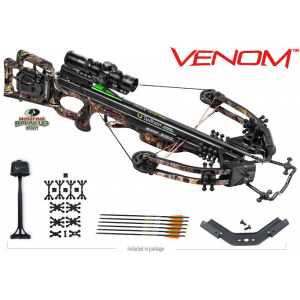 Tenpoint Venom Crossbow Package with AcuDraw 50 & RangeMaster Pro Scope – Mossy Oak Breakup Infinity