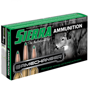 Sierra GameChanger Rifle Ammunition .30-06 Springfield 165 gr TGK 20/ct