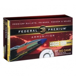 Federal Edge TLE Rifle Ammunition .308 Win 175 gr Edge TLR 2600 fps 20/ct