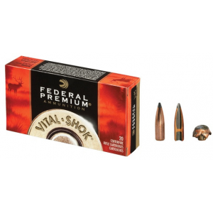 Federal Premium Vital-Shok Rifle Ammunition .308 Win 150 gr PTR 2840 fps – 20/box