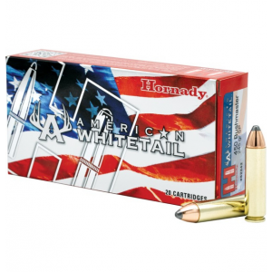 Hornady American Whitetail Rifle Ammunition .450 Bushmaster 245 gr Interlock SP 2200 fps 20/ct