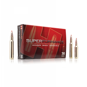 Hornady Superformance Rifle Ammunition .22-250 Rem 35 gr NTX 4450 fps – 20/box