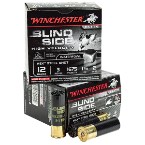 Winchester Blind Side 12 ga 3″ 1-1/8 oz #2 25/Box