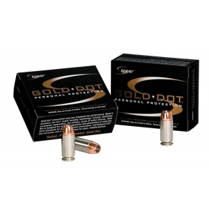 Speer Gold Dot Handgun Ammunition .357 SIG 125 gr HP 20/box