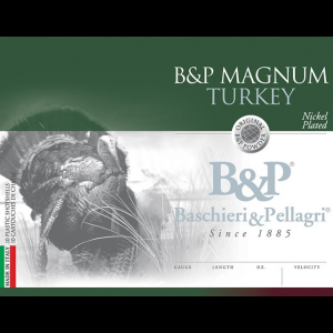 B&P Magnum Turkey Shotshells 12 ga 3″ 2 oz.1175 fps #5 10/ct
