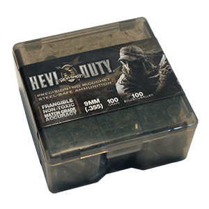 HEVI-Shot HEVI-Duty Handgun Bullets .45 cal .452″ 175 gr Frangible 100/Box