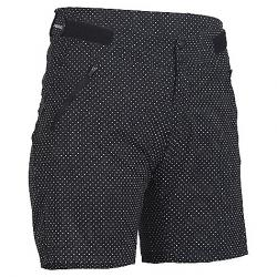 Zoic Women's Navaeh 7 Novelty Short Black Polka Dot