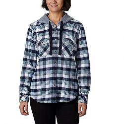 Columbia Women's Canyon Point II Shirt Jac Dark Nocturnal Check