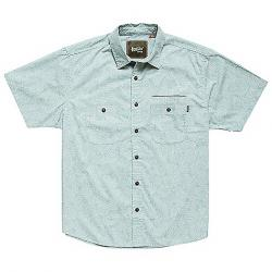Howler Brothers Men's Aransas Shirt Prickly Pear Print   Seaspray