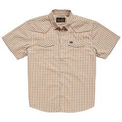 Howler Brothers Men's H Bar B Snapshirt Garland Plaid  Beige