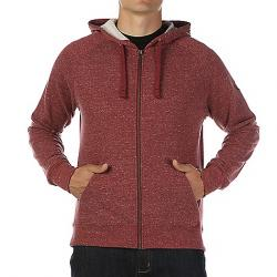 Moosejaw Men's Secret Agent  Zip Hoody Heather Maroon