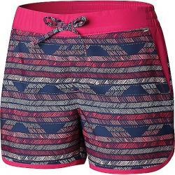 Columbia Toddler Girls' Sandy Shores Boardshort Haute Pink Chevron