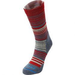 Fits Women's Casual Crew Sock Red