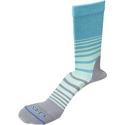 Fits Women's Casual Crew Sock Scuba Blue / Titanium