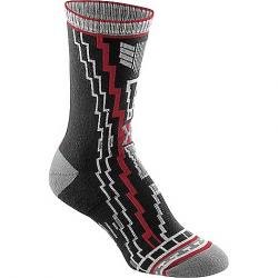 Fox River Women's Tribal Deco Crew Sock Black