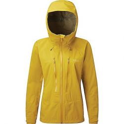 Rab Women's Downpour Alpine Jacket Sulphur