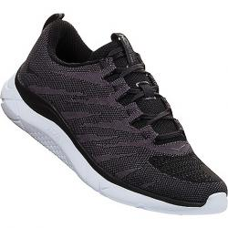 Hoka One One Men's Hupana Knit Jacquard Shoe Black / White