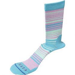 Fits Women's Casual Crew Sock Scuba Blue