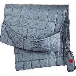 Grand Trunk Hooded Tech Throw Travel Blanket Slate Gray