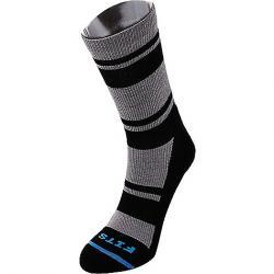 Fits Light Hiker Crew Sock Titanium / Black