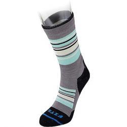 Fits Men's Light Hiker Crew Sock Titanium / Navy