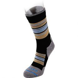 Fits Men's Light Hiker Crew Sock Black / Titanium