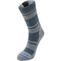 Fits Light Hiker Crew Sock Stormy Weather / Titanium