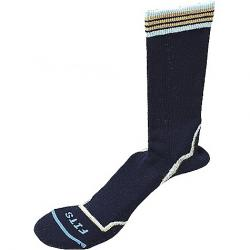 Fits Women's Light Hiker Crew Sock Black / Oak Bluff