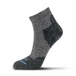 Fits Light Hiker Quarter Sock Coal