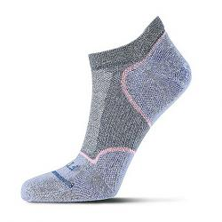 Fits Women's Ultralight Runner No Show Sock Stormy Weather