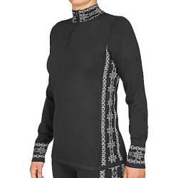 Hot Chillys Women's Sweater Knit Zip-T Sideline / Black