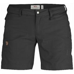 Fjallraven Women's Abisko Shade Short Dark Grey