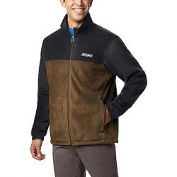 Columbia Men's Steens Mountain Full Zip 2.0 Jacket Black/Olive Green