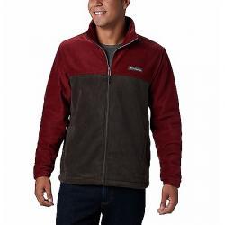 Columbia Men's Steens Mountain Full Zip 2.0 Jacket Red Jasper/Buffalo