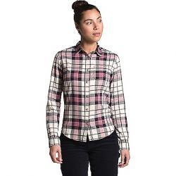 The North Face Women's Berkeley LS Girlfriend Shirt Mesa Rose Heritage Medium Three Color Plaid