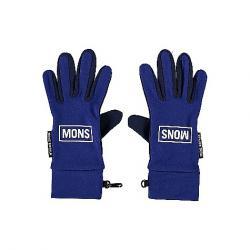 Mons Royale Elevation Glove Navy / Electric Blue