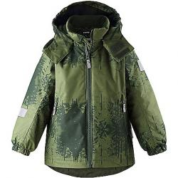 Reima Kid's Maunu Reimatec Jacket Dark Green
