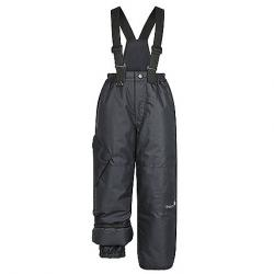 Therm Kids' Snowrider Convertible Overall Black