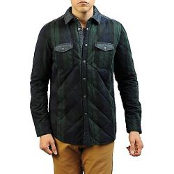 Jeremiah Men's Wooster Quilted Plaid Shirt Jacket Forester