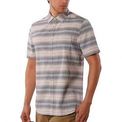 Jeremiah Men's Gibson Textured Chambray Stripe SS Shirt Griffin