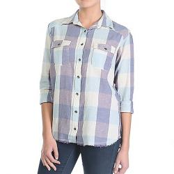 Billabong Women's Riding Solo Shirt Blue Jay