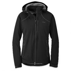 Outdoor Research Women's Linchpin Hooded Jacket Black