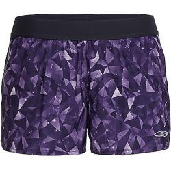 Icebreaker Women's Comet Short Lattice Sky / Aura / Vivid