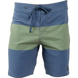 United By Blue Men's Midstream Scallop Boardshort Green