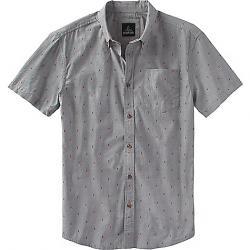 Prana Men's Broderick Standard Shirt Gravel