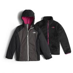 The North Face Girl's Osolita Triclimate Jacket Graphite Grey