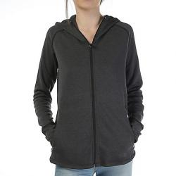 The North Face Women's Wrap-Ture Full Zip Jacket TNF Black Heather