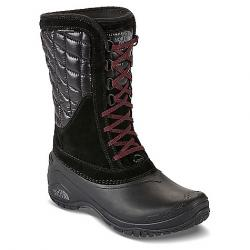 The North Face Women's Thermoball Utility Mid Boot TNF Black / Deep Garnet Red