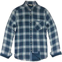 Jeremiah Men's Reversible Print LS Shirt Ensign Blue