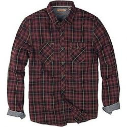 Jeremiah Men's Sinclair LS Shirt Oxblood
